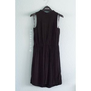 Forever 21 | Keyhole Mock Neck Little Black Dress